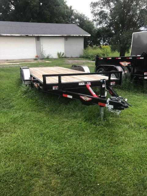 2020 H & H Trailers Flatbed Trailer 20 Foot