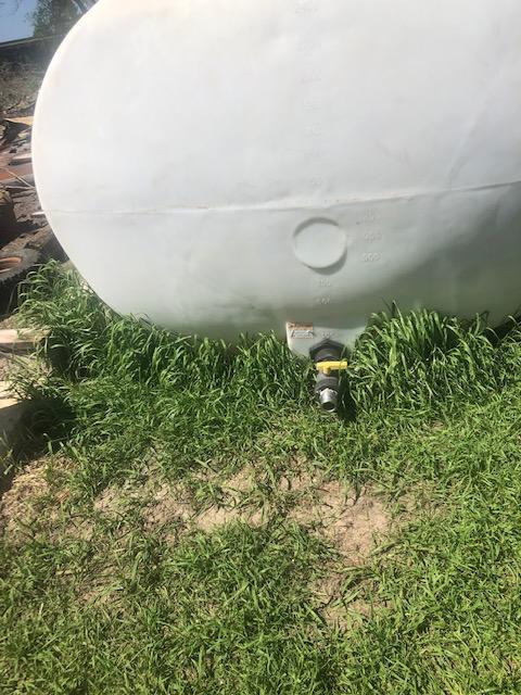 Used 2600 Gallon Water Tank