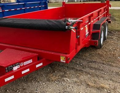 B-B 83 x 14 Low-Pro HD Dump Trailer