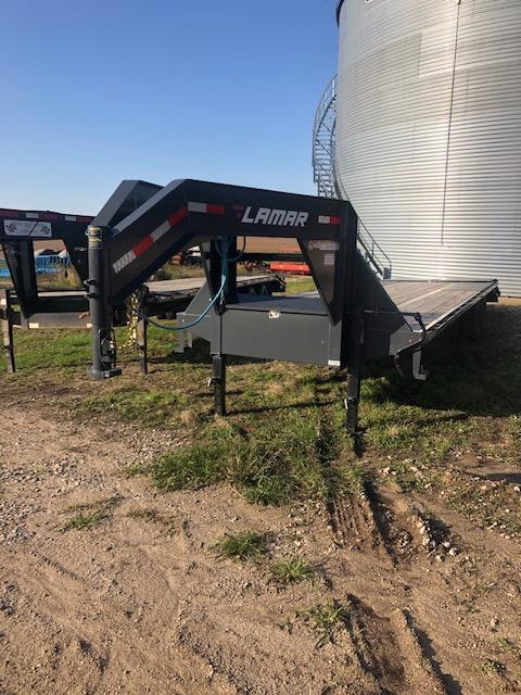 "2019 Lamar Trailers Tandem Dually 102""x30' Flatbed Trailer"