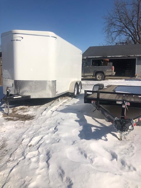2018 Sharp Enclosed Cargo Trailer