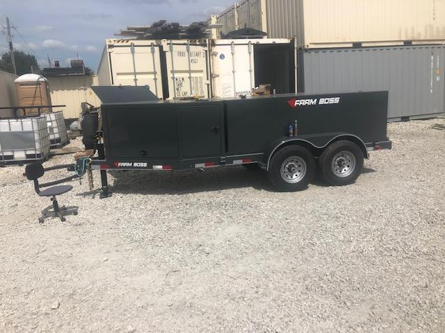 2018 Farm Boss 990 with def gas motor and hose reel