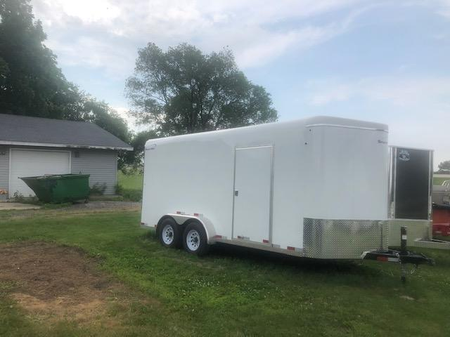 2018 Sharp 14 footers (Coming in) Enclosed Cargo Trailer