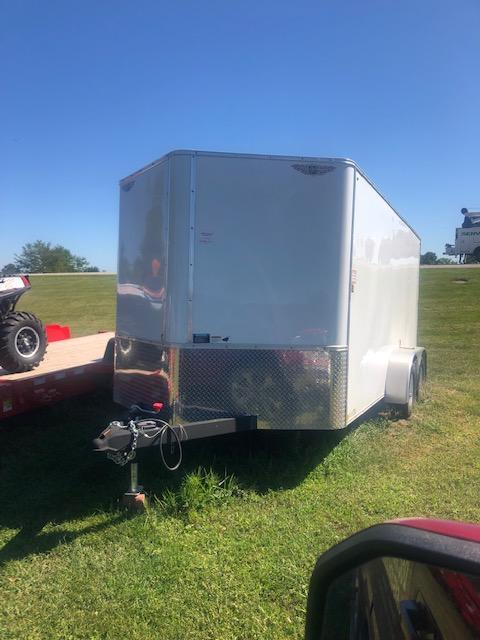 2010 H & H Trailers Used 14 Foot Enclosed Cargo Trailer