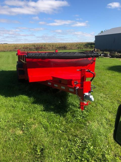 2019 B-B Dumb Trailer 7x14' (RED)