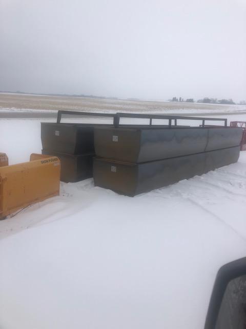 Werkweld 20 foot bottomless bunks