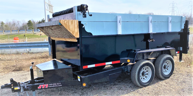 2019 Quality Steel and Aluminum 6X12 10K Dump Trailer