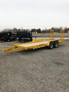 2018 CAM Superline 18' Equipment Trailer