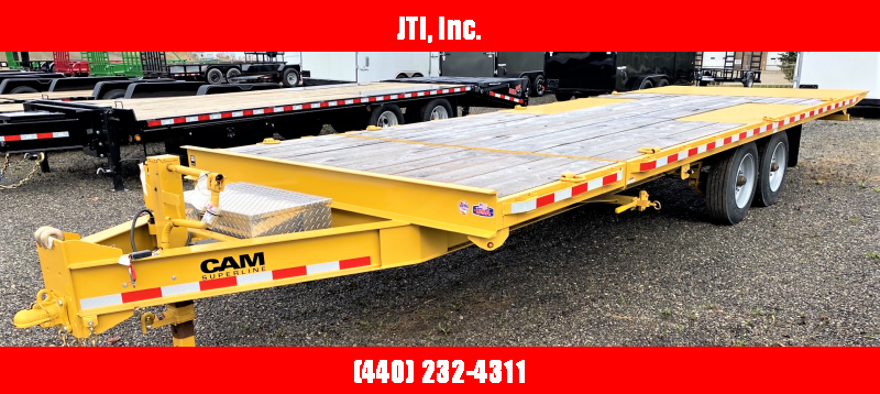 2020 Cam Superline P7CAM20FTT Equipment Trailer