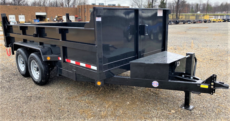 "2020 Quality Steel and Aluminum 83""X16' Dump Trailer"