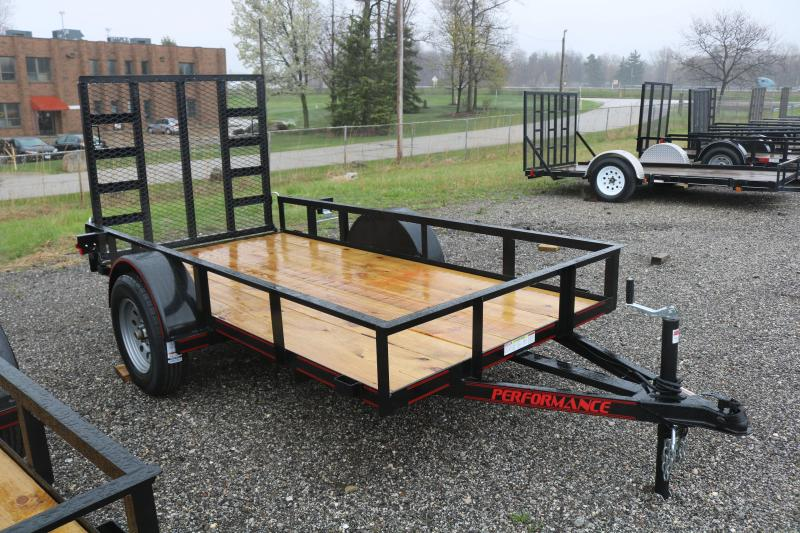 2021 Parker Trailers 6X10 Utility Trailer