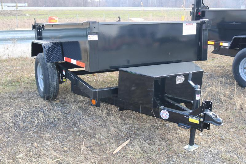 2021 Quality Steel 5' x 8' Dump Trailer