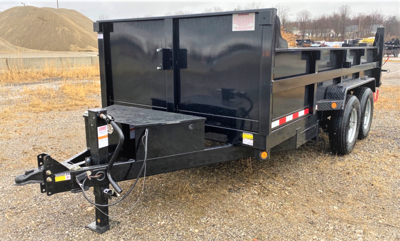 "2020 Quality Steel and Aluminum 83""X14' Dump Trailer"