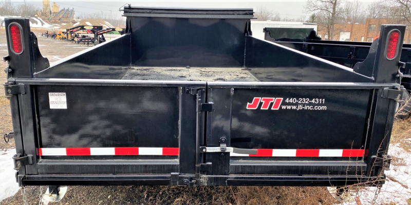 2017 Quality Steel and Aluminum Dump Dump Trailer