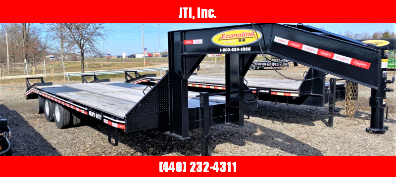 2019 Econoline DGG1025DE Equipment Trailer