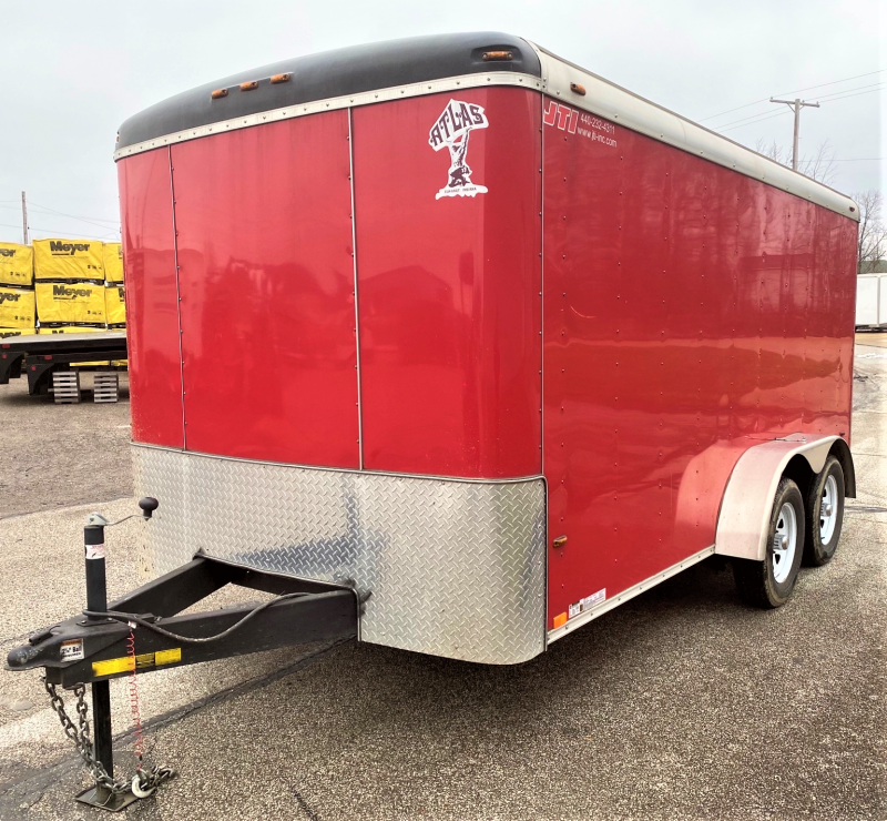 2017 Atlas Specialty Trailers Trailer Enclosed Cargo Trailer