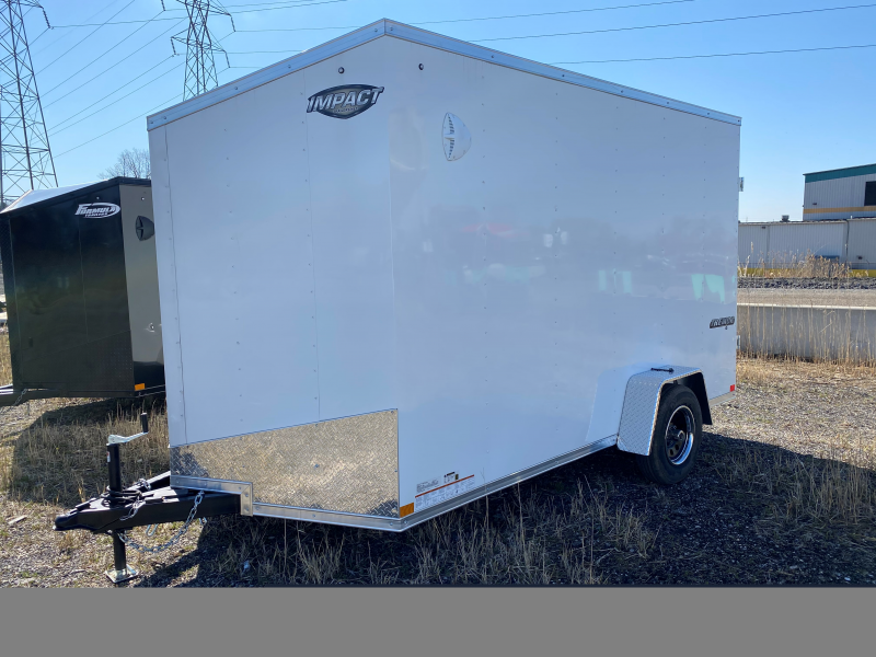 2021 Formula Trailers 7X12 Enclosed Cargo Trailer