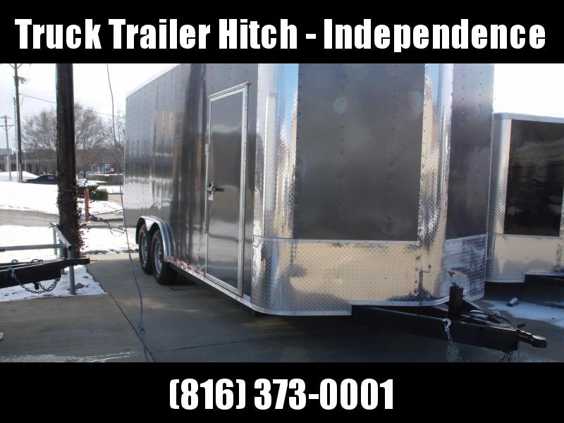 Enclosed Trailer 8.5  X 20 Ramp 10400 GVW    8' Interior Extra Tall