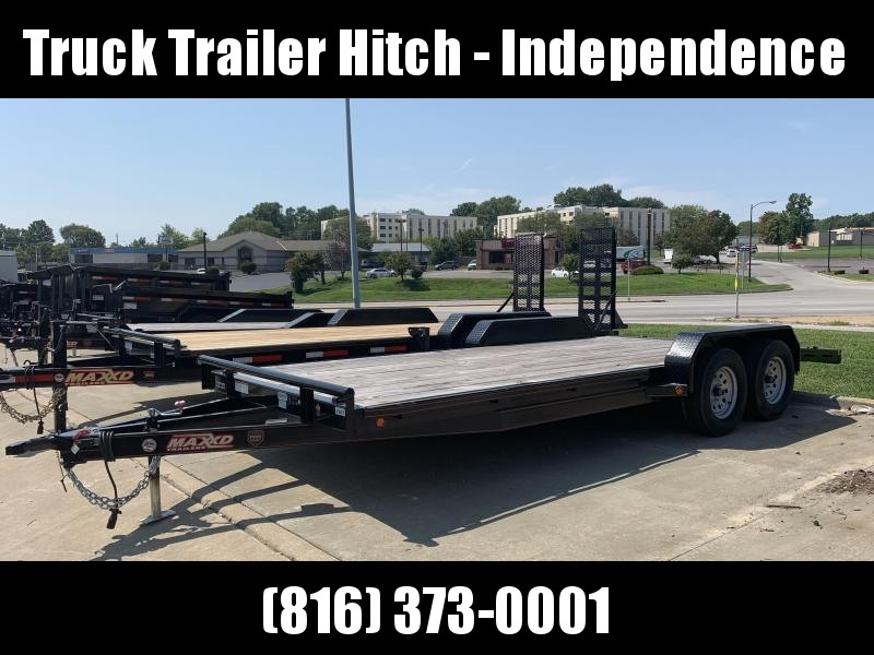 2018 MAXXD 83X20 C5X 7K Car / Racing Trailer