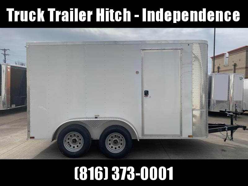 2020 Arising 7X12 7K Tandem Axle Enclosed Cargo Trailer