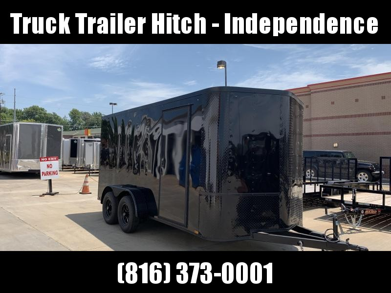 2019 Arising 7x14 Blackout Package Enclosed Cargo Trailer