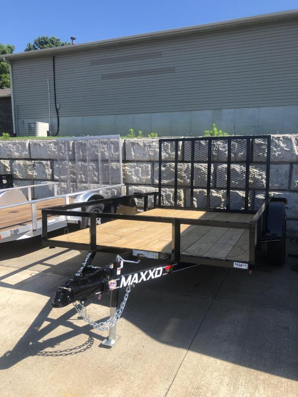 2019 MAXXD S2M 77x10 Utility Trailer