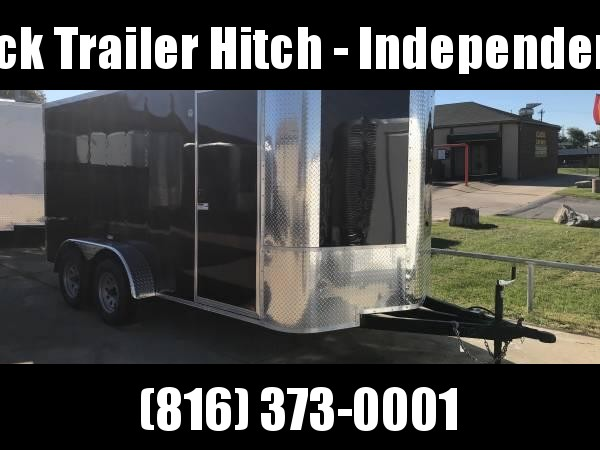 Enclosed Trailer 7 X 14 Ramp 7000 GVW ALL Tube Construction