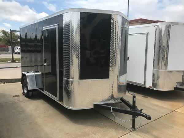 "Enclosed Trailer 6 X 12 Ramp ALL TUBE Construction 6' 3"" Interior Height"