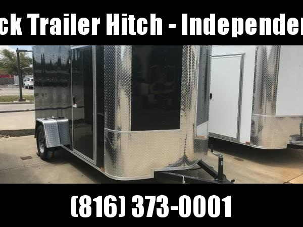 """Enclosed Trailer 6 X 12 Ramp ALL TUBE Construction 6' 3"""" Interior Height"""