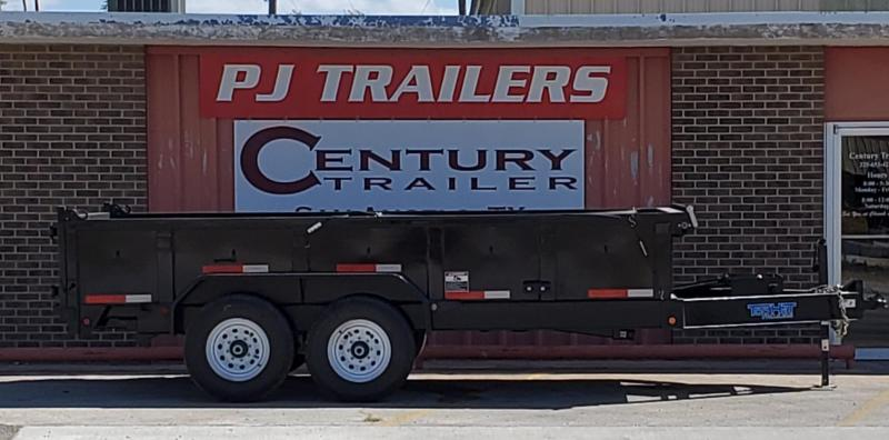 2019 Top Hat Trailers 7X14XDP140 Dump Trailer