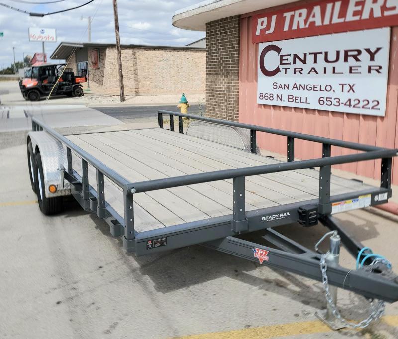 2019 PJ Trailers UL21632CRK Utility Trailer