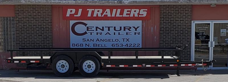2019 PJ Trailers CCJ2072BSSKMT Equipment Trailer
