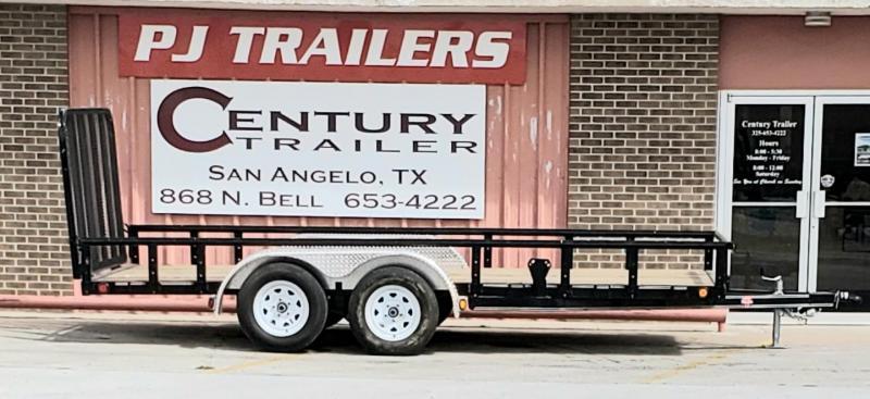 2020 PJ Trailers U121632CSGKPV Utility Trailer