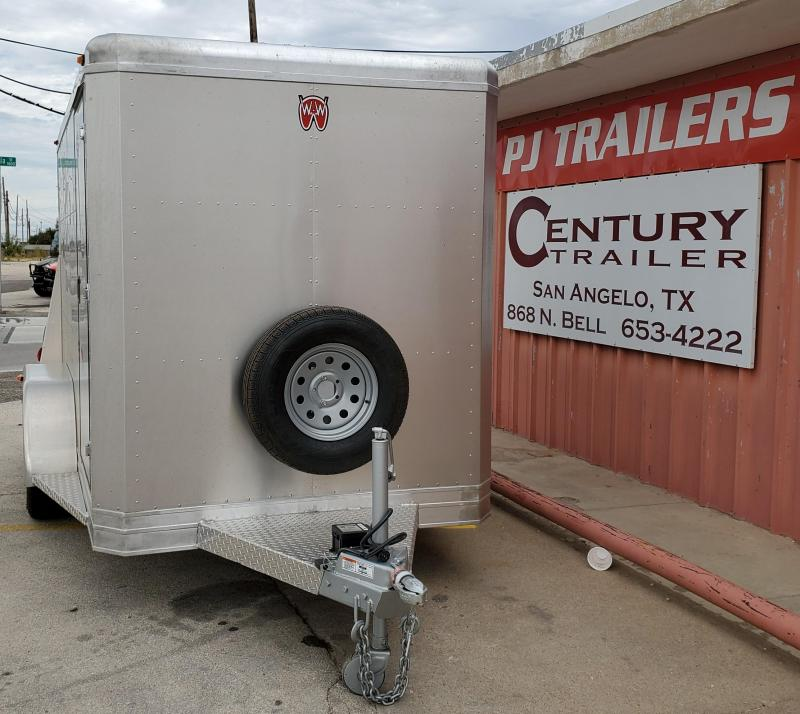 2020 W-W Trailer Aluminum Cargo Carrier Enclosed Cargo Trailer