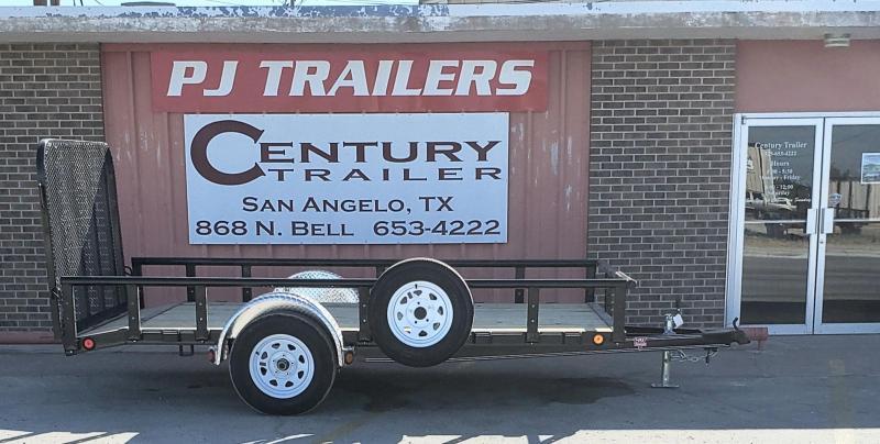 2020 PJ Trailers U721231DSBKPV Utility Trailer