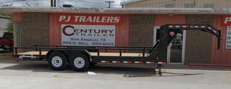 2020 PJ Trailers CCR2072BSSKM Equipment Trailer