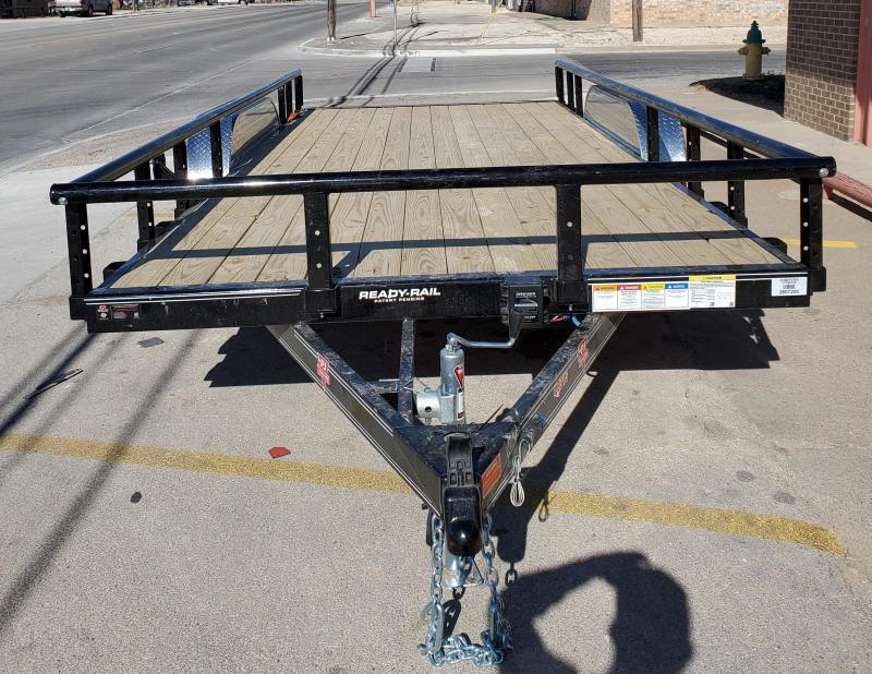 2020 PJ Trailers UL21632CSRKJPV Utility Trailer