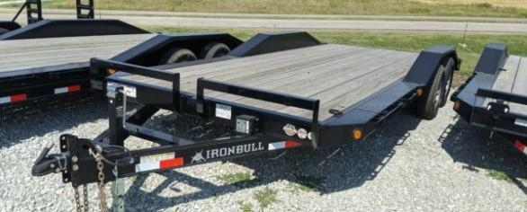 "Iron Bull 102"" x 20' Equipment Hauler"