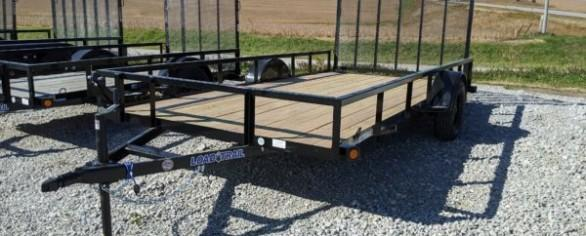 "Load Trail 83"" x 14' Single Axle Utility Trailer"