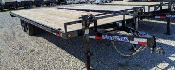 "Load Trail 102"" x 24' Deckover Trailer"