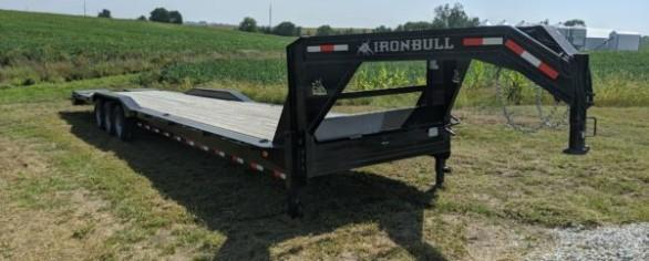 "Iron Bull 102"" x 40' Gooseneck Equipment Hauler"