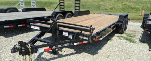 "Iron Bull 83"" x 22' Equipment Hauler"