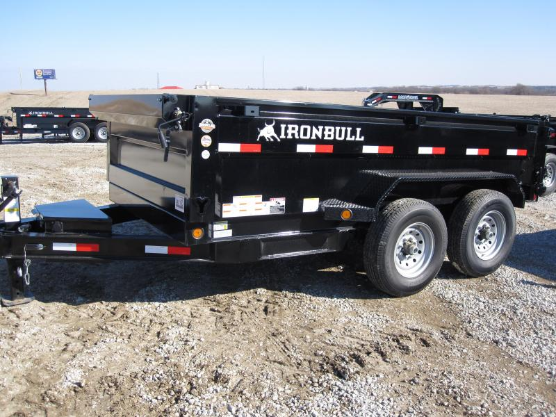 "Iron Bull 72"" x 12' Dump Trailer"