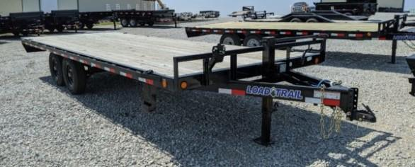 "Load Trail 102"" x 22' Deckover Trailer"
