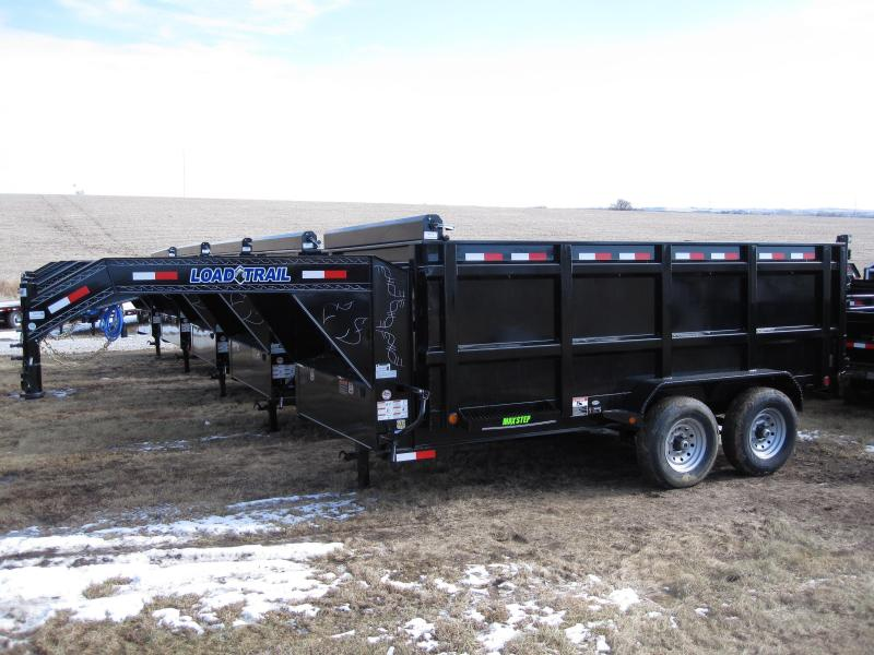 "Load Trail 83"" x 14' Gooseneck Dump Trailer"