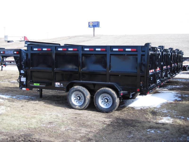 "Load Trail 83"" x 14' Gooseneck Dump Trailer"