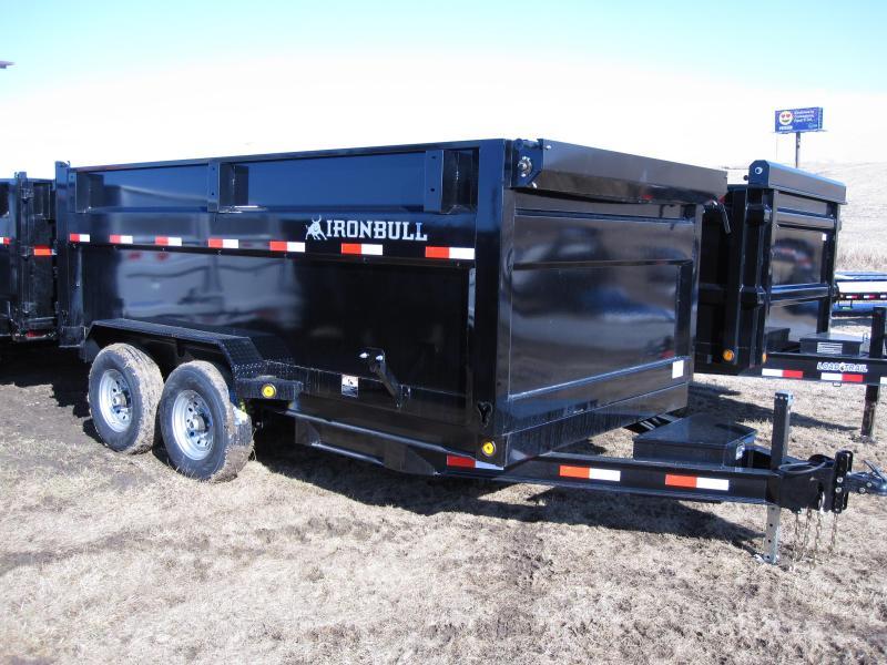 "Iron Bull 83"" x 14' Dump Trailer"