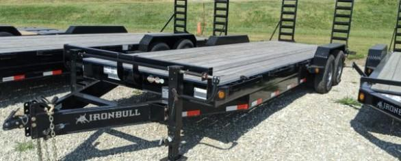 "Iron Bull 83"" x 24' Equipment Hauler"