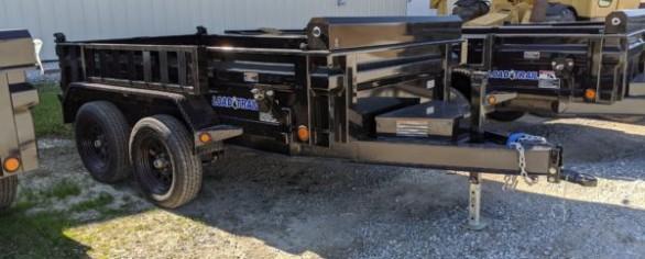 """Load Trail 60"""" x 10' Tandem Axle Dump"""
