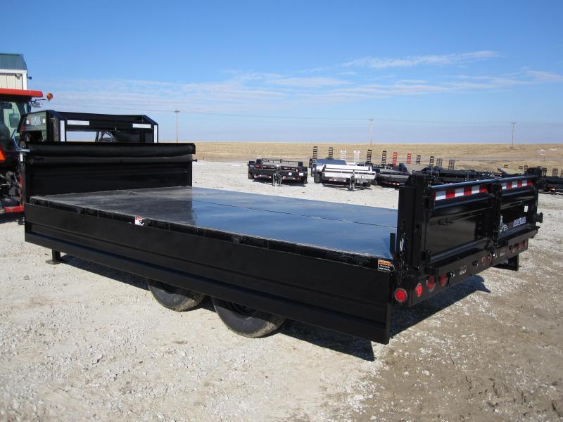 "Load Trail 96"" x 16' Gooseneck Deckover Dump Trailer"